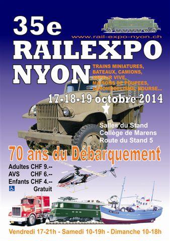 [VD - CH] 2014-10-18 : Rail Expo - Nyon 2014-10-18_rail_expo_nyon_00