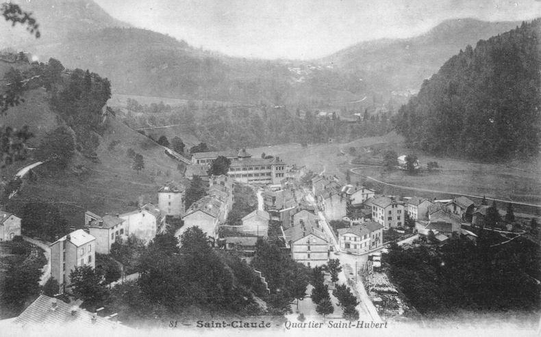 Saint-Claude au début du XX siècle (39) 0017-4