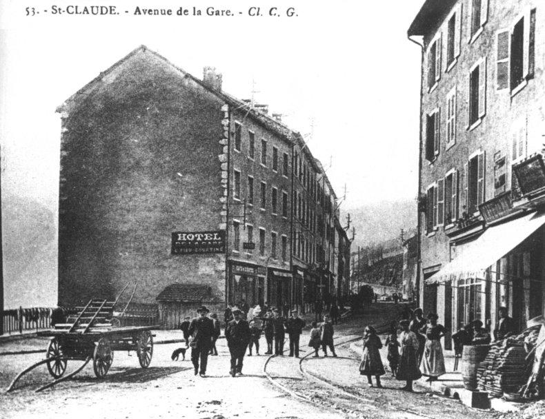 Saint-Claude au début du XX siècle (39) 0020b