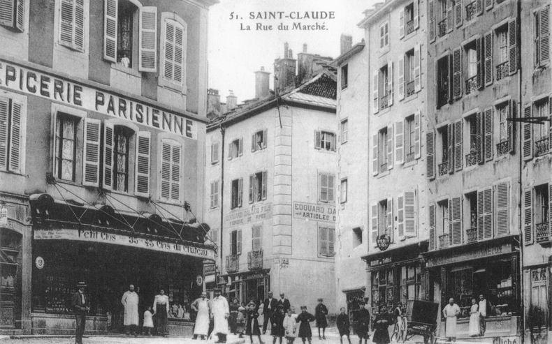 Saint-Claude au début du XX siècle (39) 0057
