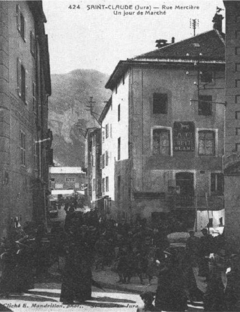 Saint-Claude au début du XX siècle (39) 0059a