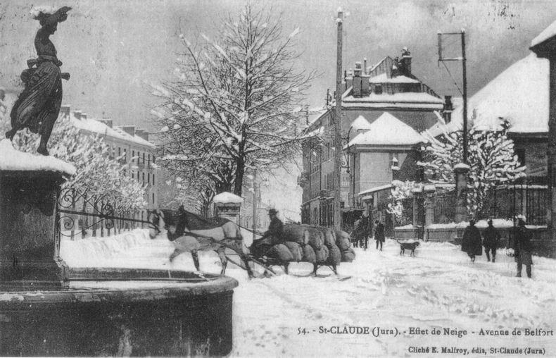 Saint-Claude au début du XX siècle (39) 0081