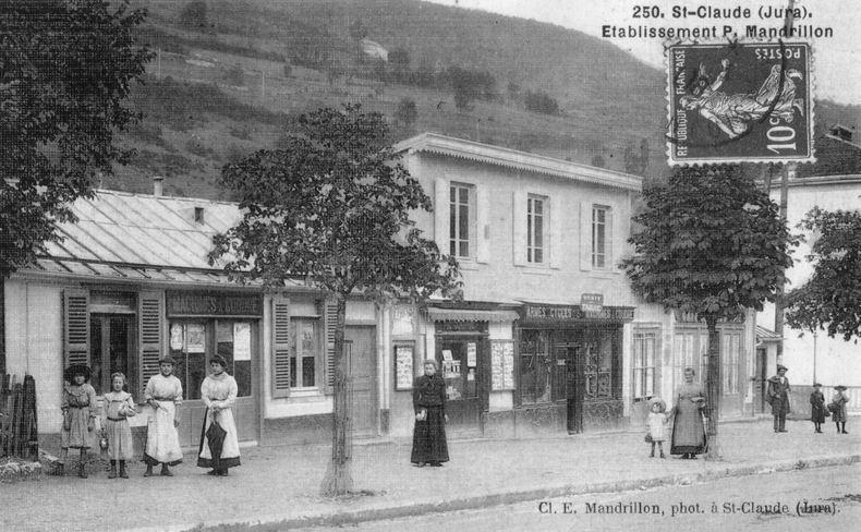 Saint-Claude au début du XX siècle (39) 0084