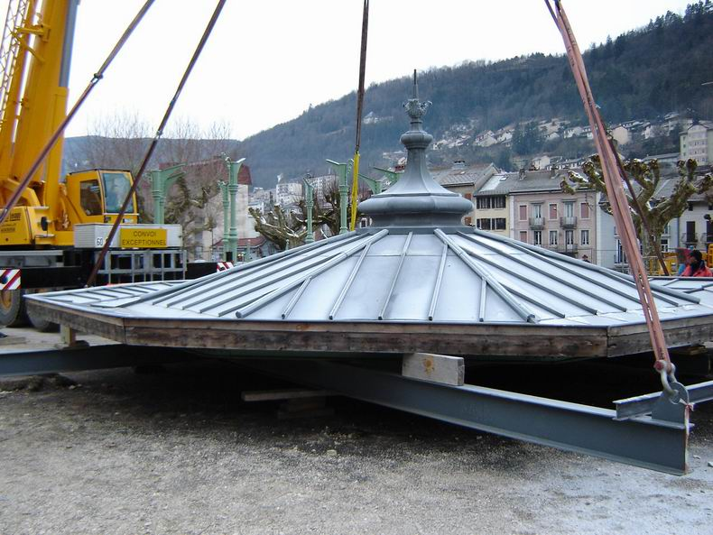 Restauration du kiosque à musique du Truchet - St-Claude 0003