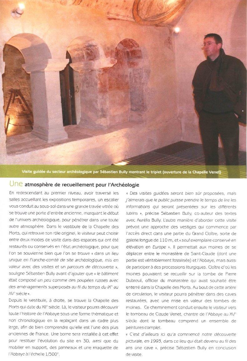 Le Musée de l'Abbaye - Donations Bardone-Genis - St-Claude D