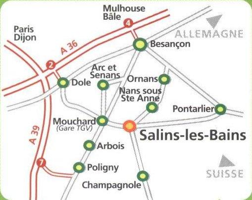 Les Salines de Salins les Bains (39) 0000