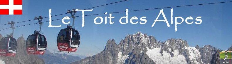 Pour la beauté des lieux et la richesse des images - Le toit des Alpes Logo