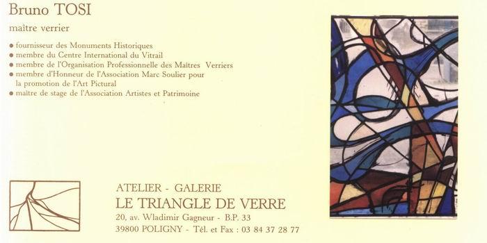 2008-08-06 : Le Triangle de Verre - Jacqueline et Bruno Tosi Carte_pro