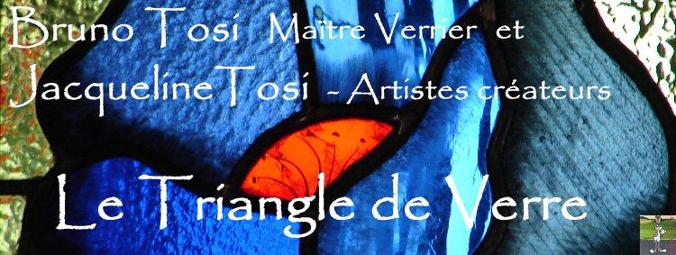 2008-08-06 : Le Triangle de Verre - Jacqueline et Bruno Tosi Logo