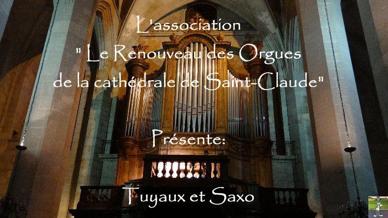 Tuyaux et Saxo - Cathédrale St-Claude (39) - 11 juillet 2013 Titre