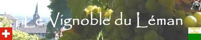 Le vignoble côté Léman (VD) Logo