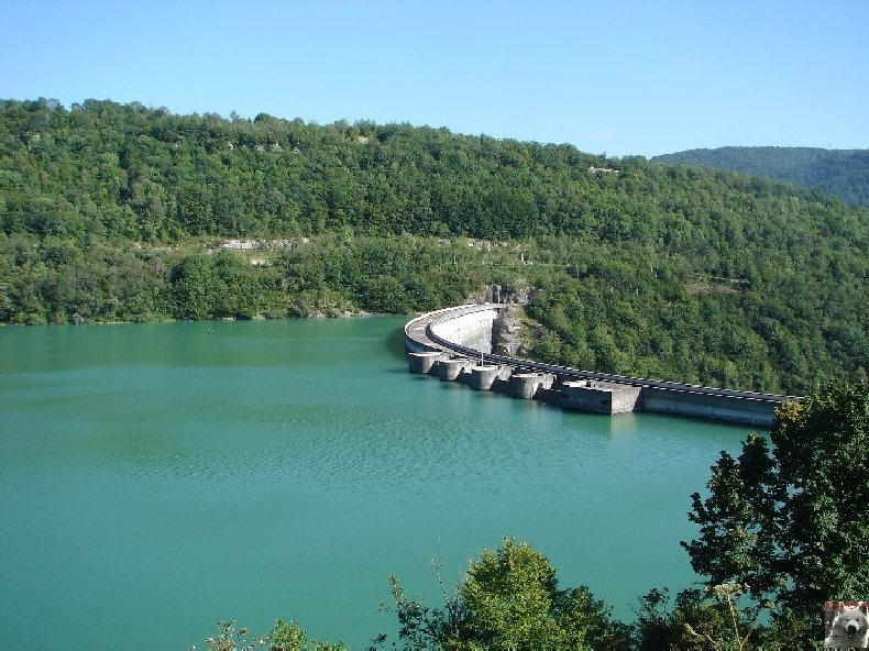 Le barrage et le lac de Vouglans (39) - 27/07 - 12/08/2007 0001