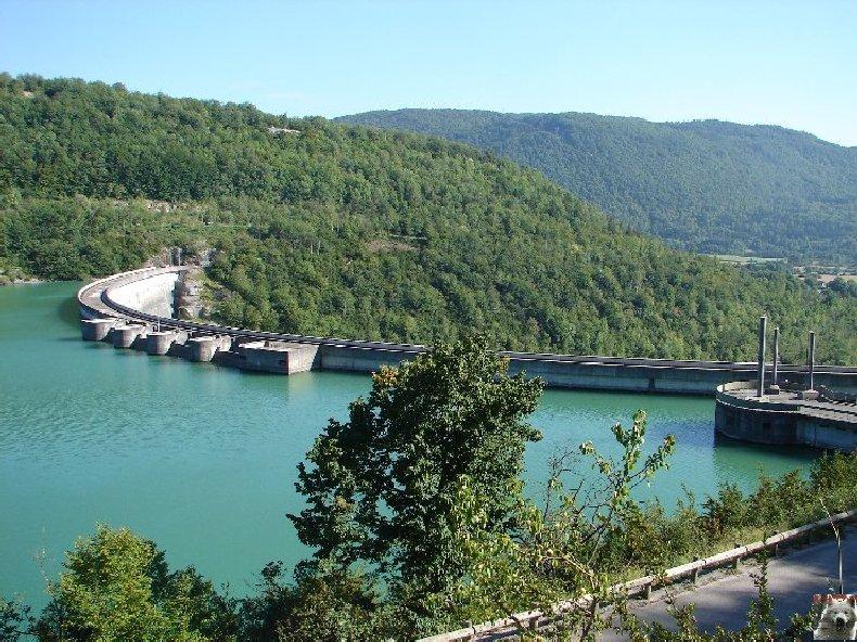 Le barrage et le lac de Vouglans (39) - 27/07 - 12/08/2007 0002