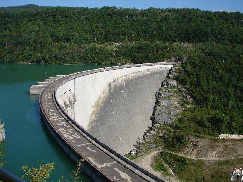 Le barrage et le lac de Vouglans (39) - 27/07 - 12/08/2007 0004