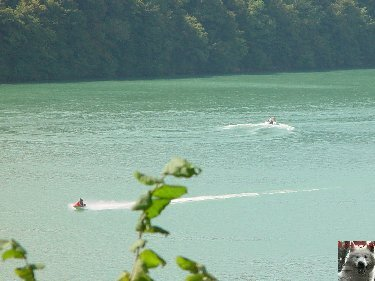 Le barrage et le lac de Vouglans (39) - 27/07 - 12/08/2007 0022