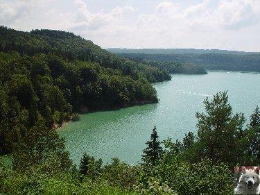 Le barrage et le lac de Vouglans (39) - 27/07 - 12/08/2007 0024