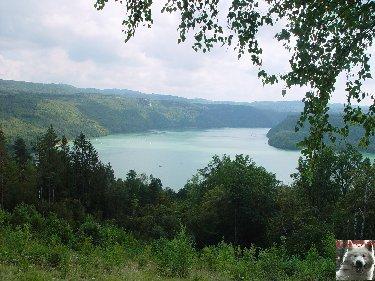 Le barrage et le lac de Vouglans (39) - 27/07 - 12/08/2007 0026
