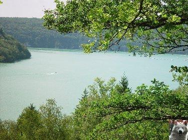 Le barrage et le lac de Vouglans (39) - 27/07 - 12/08/2007 0028