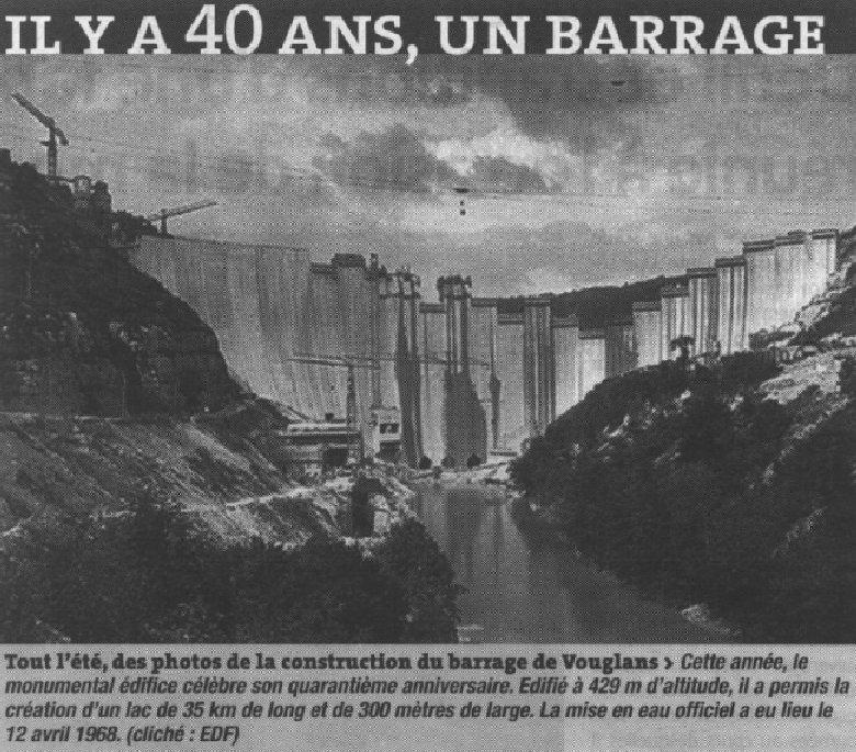 Le barrage et le lac de Vouglans (39) - 27/07 - 12/08/2007 0036
