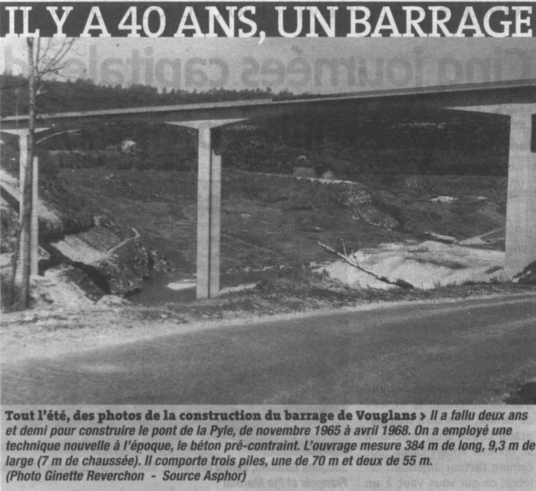 Le barrage et le lac de Vouglans (39) - 27/07 - 12/08/2007 0038