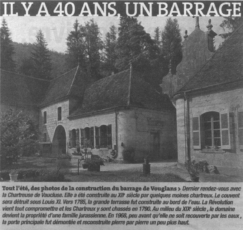 Le barrage et le lac de Vouglans (39) - 27/07 - 12/08/2007 0044