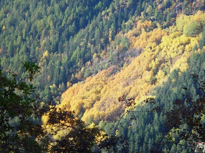Le Val d'Annivier - Suisse - VS - 15 octobre 2005   0006
