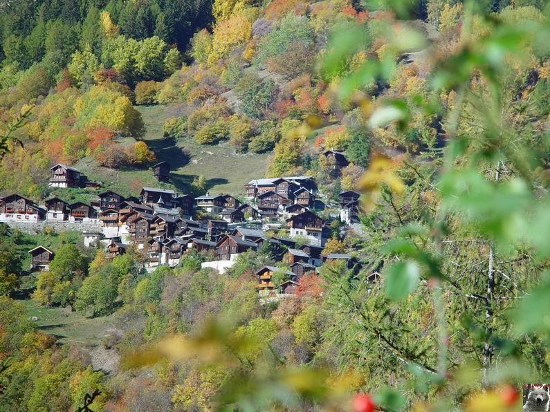 Le Val d'Annivier - Suisse - VS - 15 octobre 2005   0009