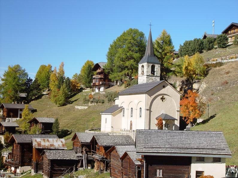 Le Val d'Annivier - Suisse - VS - 15 octobre 2005   0023