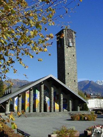Notre Dame de Toute Grace - Le Plateau d'Assy (74) 0004
