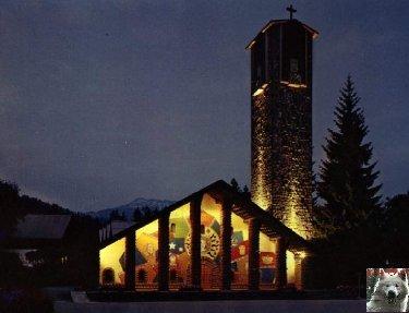 Notre Dame de Toute Grace - Le Plateau d'Assy (74) 0006b
