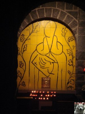 Notre Dame de Toute Grace - Le Plateau d'Assy (74) 0014b