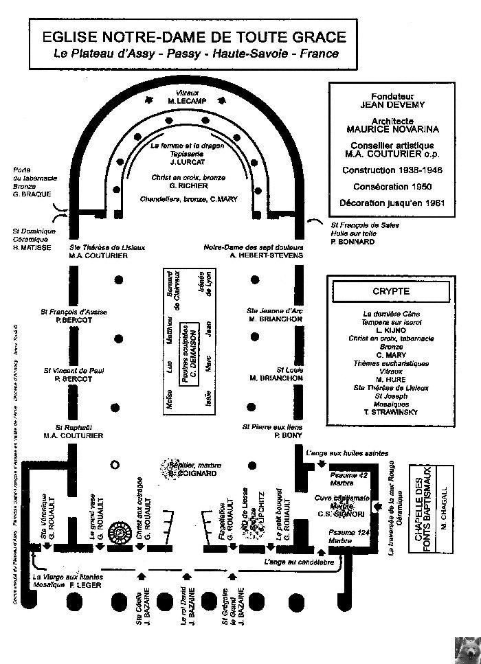 Notre Dame de Toute Grace - Le Plateau d'Assy (74) 0027