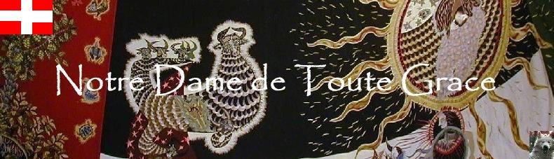 Notre Dame de Toute Grace - Le Plateau d'Assy (74) Logo