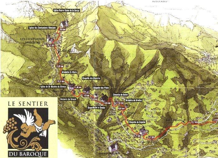 Eglises et chapelles baroques au pays du Mont Blanc D
