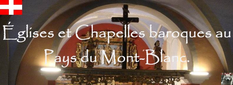 Eglises et chapelles baroques au pays du Mont Blanc Logo