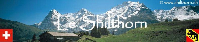 """Le Schilthorn ou """"Piz Gloria"""" - BE - Logo"""